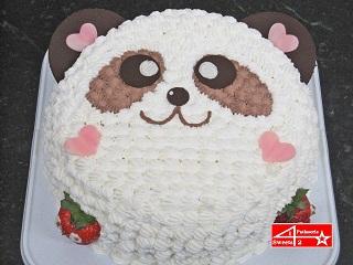 キャラクターケーキ(パンダ)