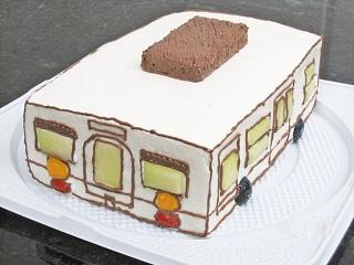 キャラクターケーキ(電車)