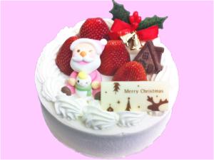 クリスマスケーキ-ストロベリーキング
